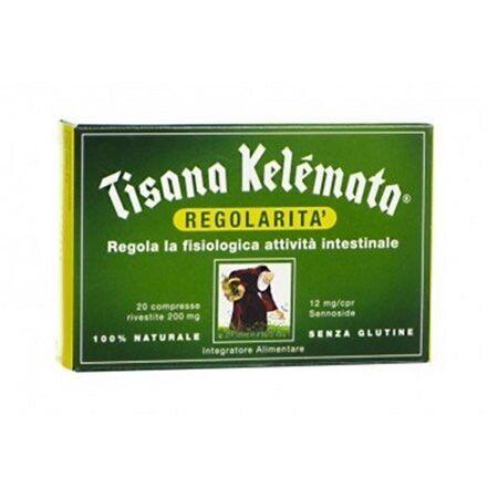kélemata tisana regolarita' 20 compresse da 200 mg