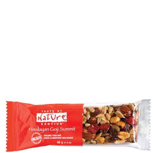 la finestra sul cielo taste of nature barretta al goji bio vegan ad alto contenutodi fibre 40 g