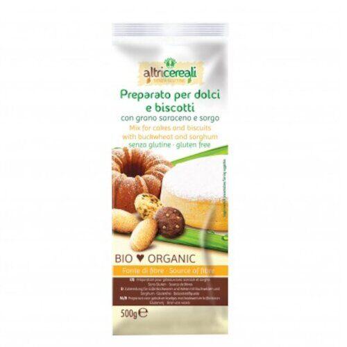 Probios Srl Altri cereali preparato per dolci con grano saraceno e sorgo500 g senza uova