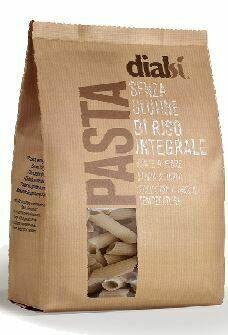 Dialcos Spa Dialsi' pasta riso integrale penne rigate numero 34 400 g