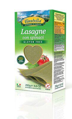 Farabella i regionali lasagne con spinaci 250 g