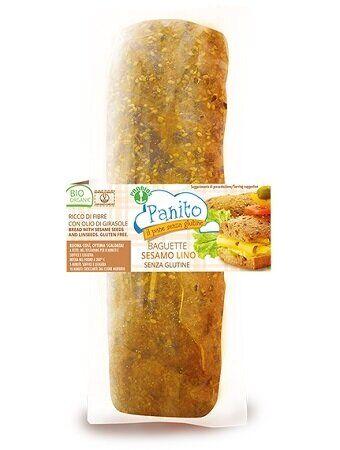 Probios Panito baguette con semi di sesamo e lino 180 g