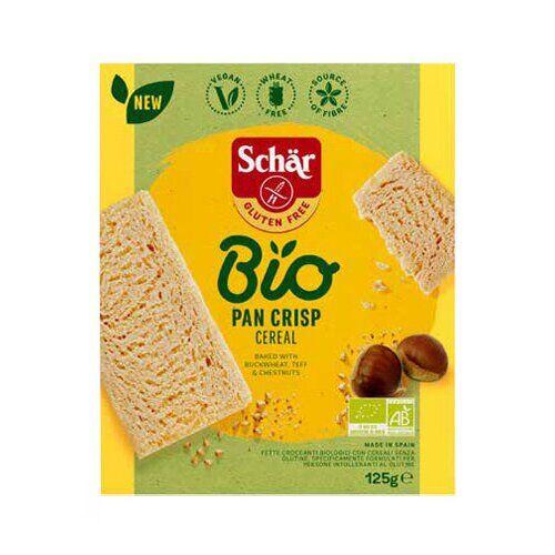 Cereal Schar bio pan crisp 125 g