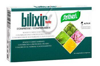 santiveri bilixir forte 40 compresse con altilix