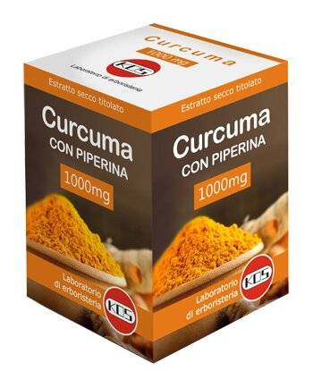 kos curcuma + piperina 1 g 30 compresse ovali