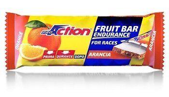 proaction fruit bar barretta energetica all'arancia 40 g