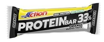 ProAction Barretta Proteica 33% gusto arancia 50 g