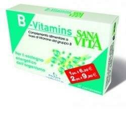 Sant'Anna Sanavita b-vitamins 30 compresse