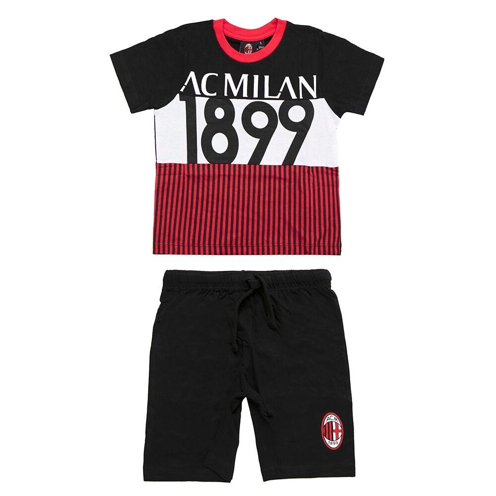Milan completo bambino, nero/black