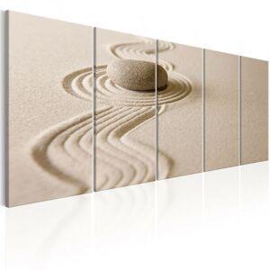 ARTGEIST Quadro - Zen: Sand and Stone - 225x90