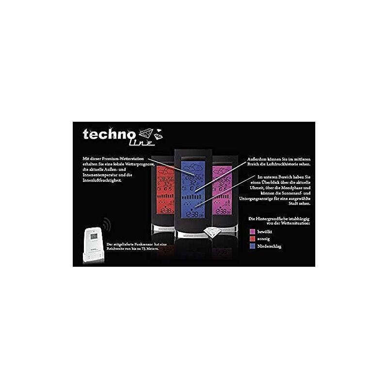 TECHNOLINE WS 6501, Nero, 10x4.5x23.5 cm -