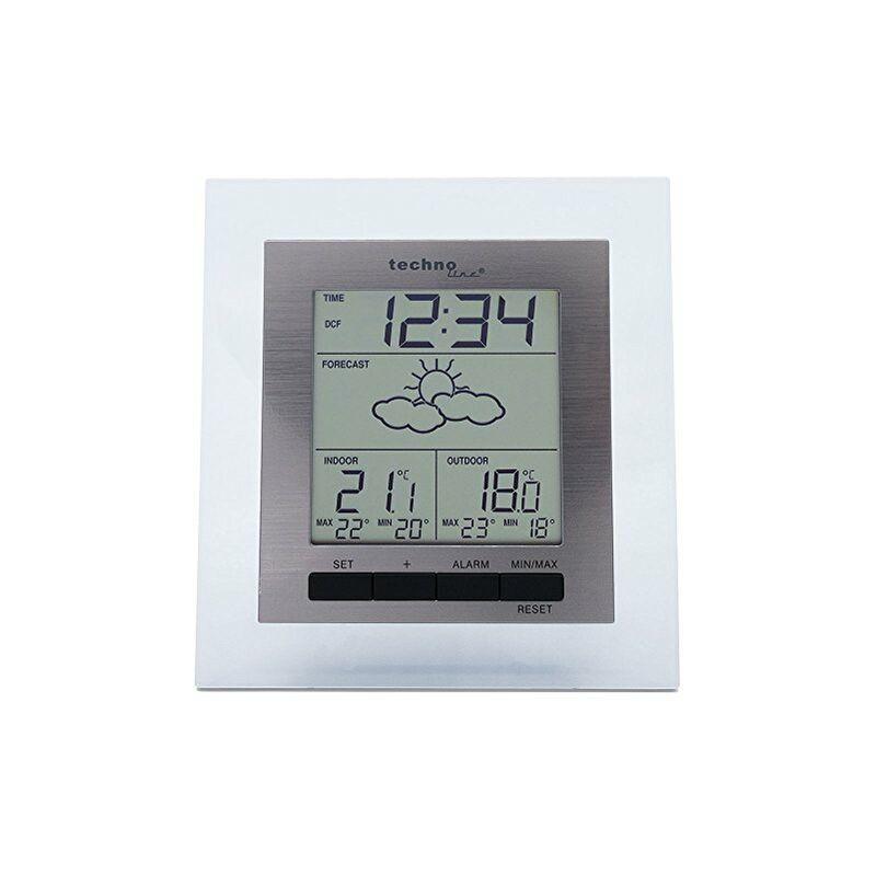 TECHNOLINE WS 9136, Alluminio Trasparente, 12.4x2.9x13 cm -