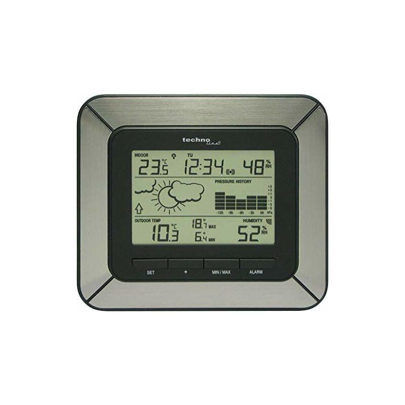 TECHNOLINE WS 9273, Alluminio Nero, 17x3.4x14.9 cm