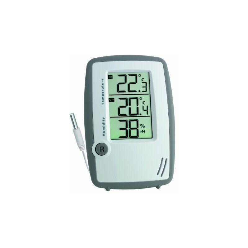 TFA Dostmann 30,5024 - Termometro/idrografo Digitale con Temperatura Esterna