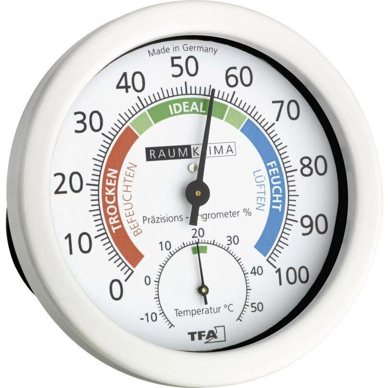 TFA Dostmann 45.2028 Termoigrometro Bianco