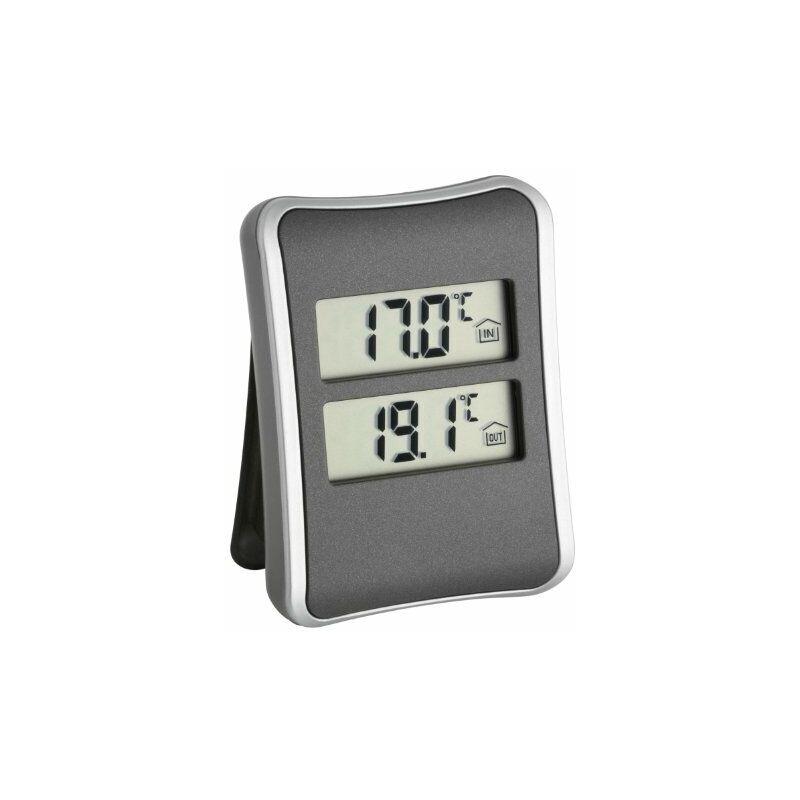 TFA Dostmann - TFA 30.1044 Termometro Digitale Interno Esterno