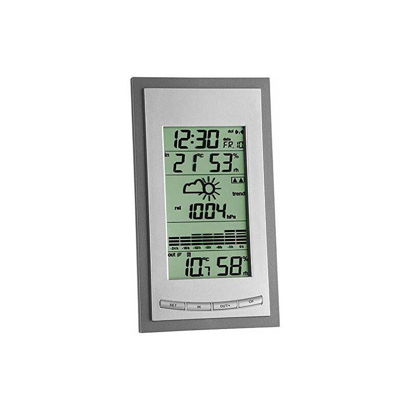 TFA 35.1078.10.IT-Stazione meteorologica, Grigio, Argento -