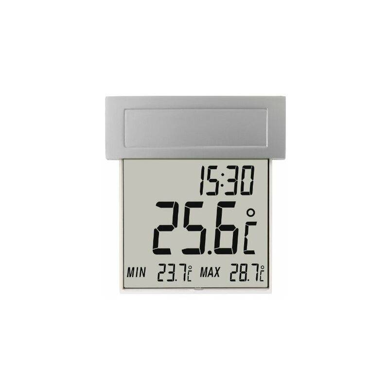 TFA Dostmann TFA Vision 30.1035 Termometro Digitale Solare da Finestra