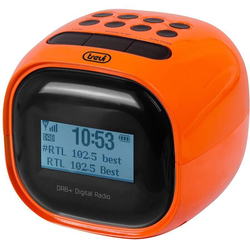 Trevi RC 80D2 DAB ARANCIO Sveglia digitale Arancione