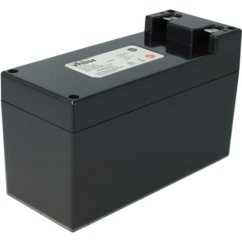 vhbw batteria per robot aspirapolvere e tagliaerba ambrogio m4, m440, m480, m485 sostituisce zucchetti cs-c0106-1 6900mah (25.2v) - vhbw