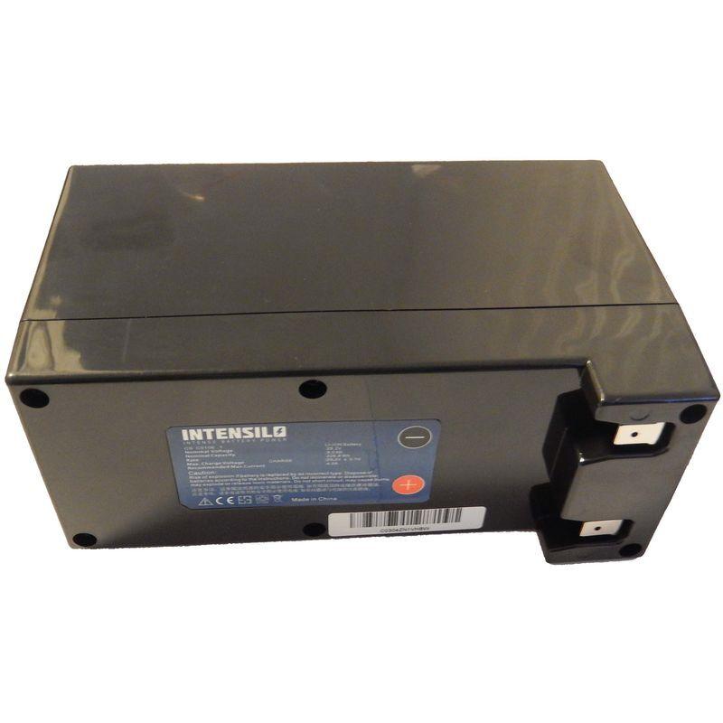 intensilo batteria li-ion da 9000mah (25.2v) per robot tagliaerba ambrogio l85 elite, l210, l250 deluxe, l250 elite, l250 elite s come cs-c0106-1.