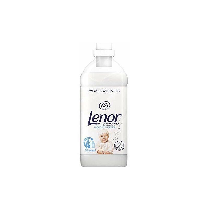PROCTER & GAMBLE Lenor Ammorbidente Concentrato Ipoallergenico 1,05L - Tocco di Purezza - 42 lavaggi