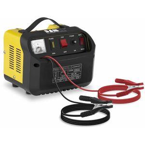 MSW Caricabatterie per auto professionale - 12/24 V - 8/12 A - pannello di controllo inclinato