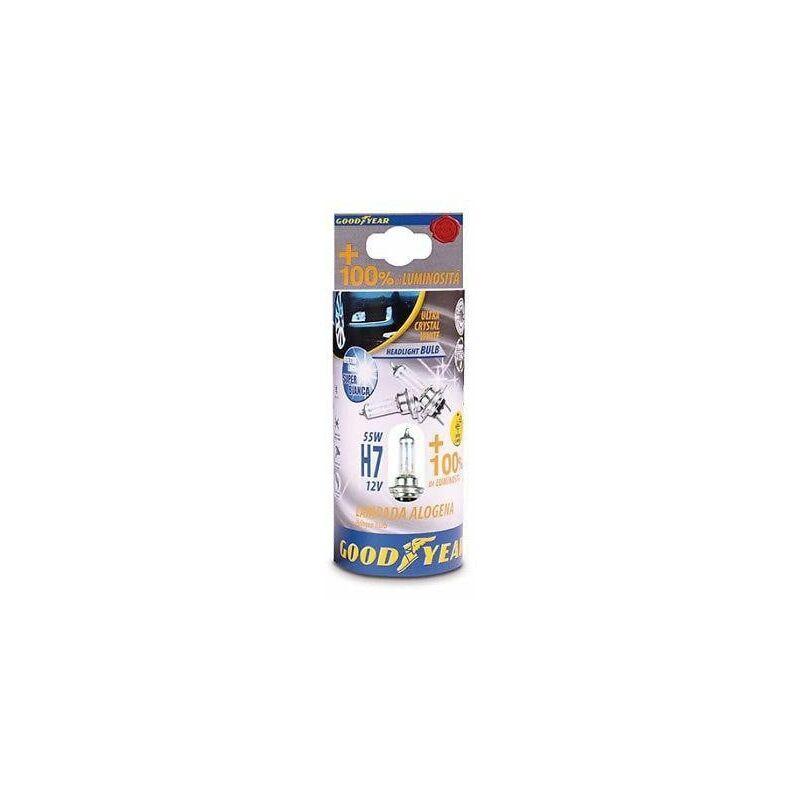 Goodyear LAMPADA 12V H7 55 W ULTRA CRYSTAL WHITE 2 PZ -