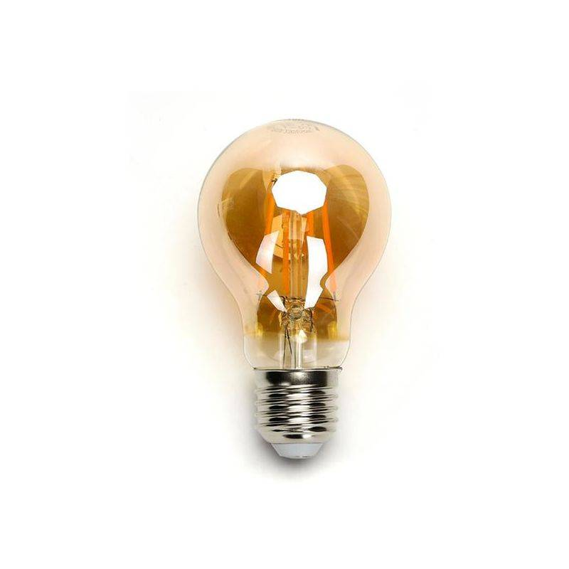 Aigostar - Lampadina Led Vintage a Filamento A60 E27 8W Bianco Caldo 2200K