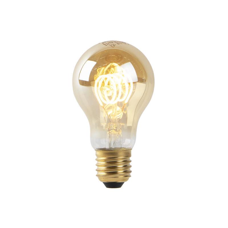 LUEDD Set 3 lampadine LED E27 200lm 2200K oro dimm