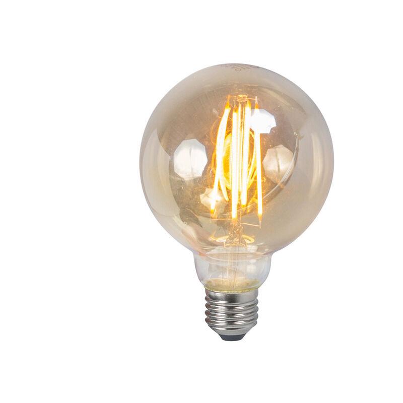 LUEDD Set di 5 lampade a fumo dimmerabili a filamento LED E27 5W 450lm 2200K - Luedd