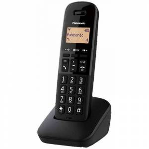 MELCHIONI Telefono Panasonic KX-TGB610 telefono cordless dect singolo con base nero