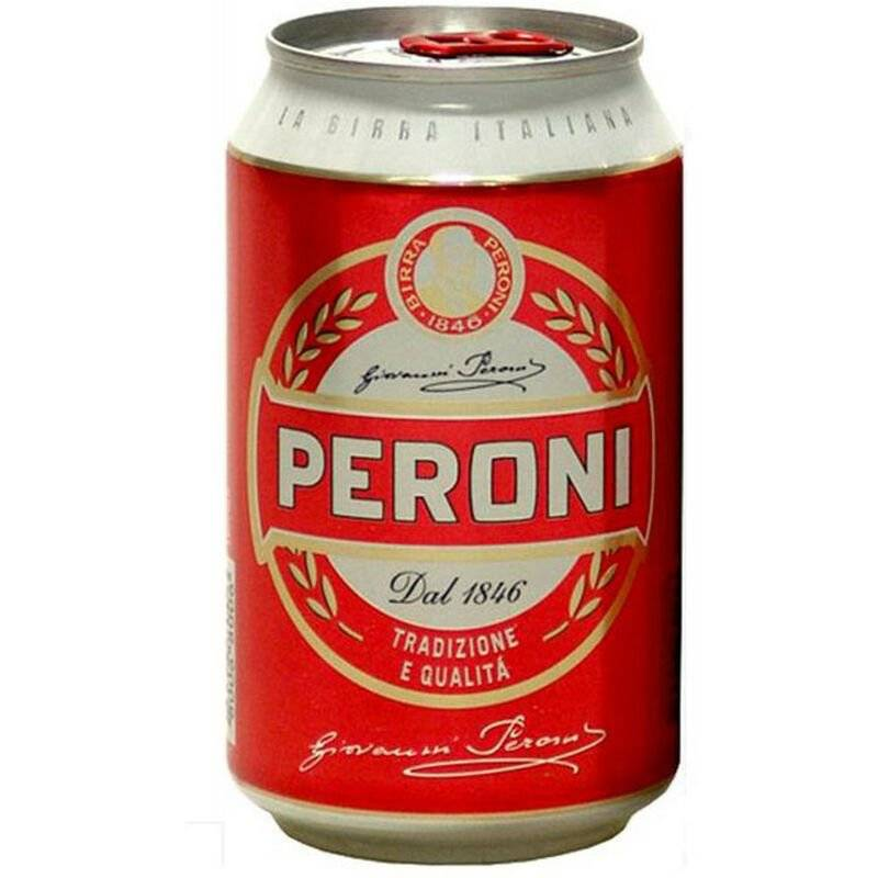 PERONI Birra in lattina cl33x24pz gradazione alcolica 4,7% - Peroni