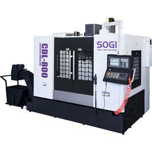 SOGI Centro di lavoro CNC a 4 assi con tavola rotante SOGI CDL-800 controllo numerico SIEMENS 808DA