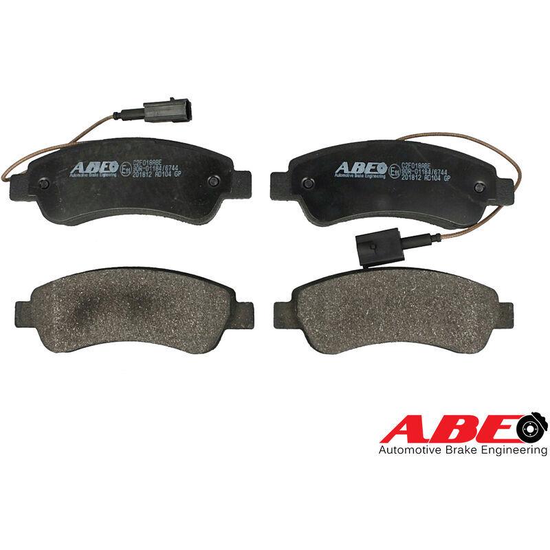ABE LEDLUX ZC2F018 Kit Pastiglie Freno C2F018 GDB2068 1612434180 1614412180 77366679 - ABE