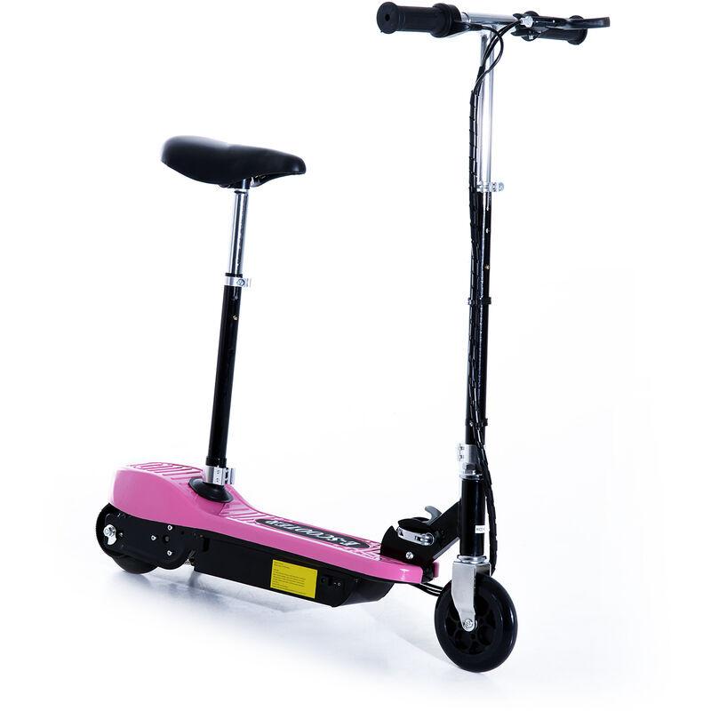 ASUPERMALL Monopattino Elettrico con Sella per Bambini Pieghevole 120W velocit