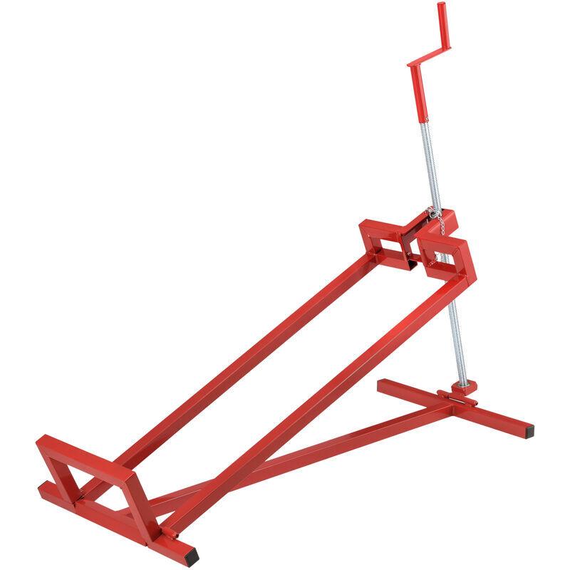 [pro.tec] sollevatore per trattorini tagliaerba / tosaerba / rasaerba / quad cric meccanico in acciaio per manutenzione / pulizia carico max. 400 kg - [pro.tec]
