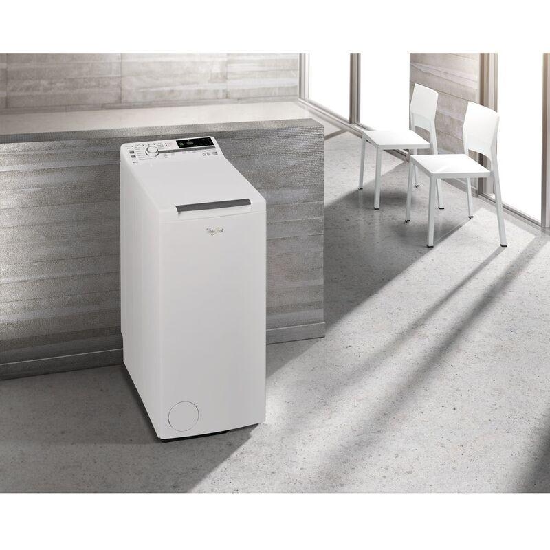 Whirlpool ZEN TDLR 6242BS IT/N lavatrice Libera installazione Caricamento dall'alto Bianco 6 kg 1200 Giri/min A+++-20% - Whirlpool