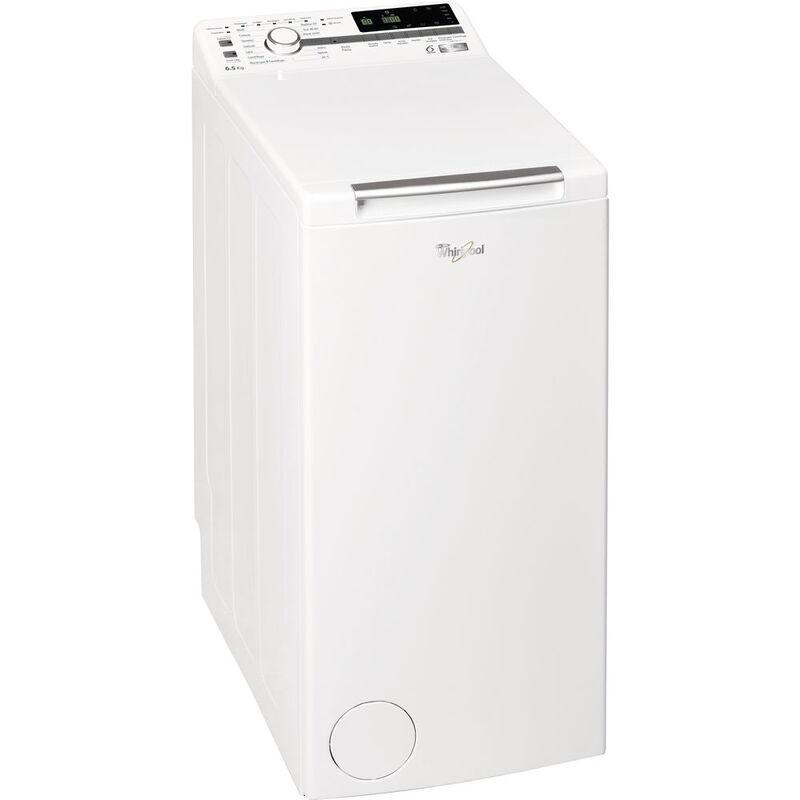 Whirlpool ZEN TDLR 65242BS IT/N lavatrice Libera installazione Caricamento dall'alto Bianco 6,5 kg 1200 Giri/min A+++-20% - Whirlpool