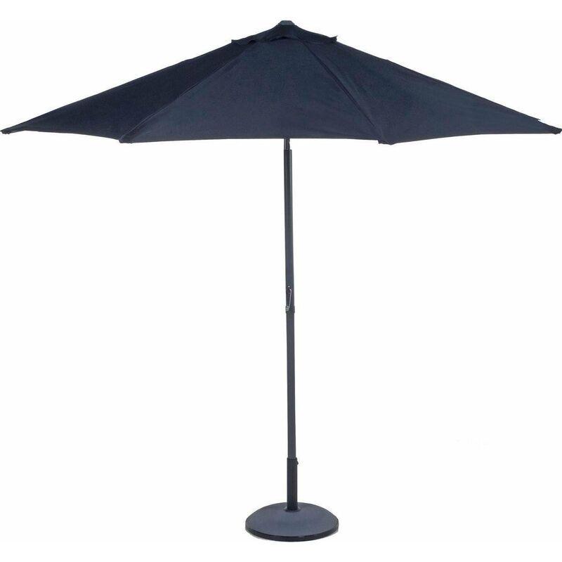 EDCO ITALIA Ombrellone da giardino parasole 3m per esterno terrazzo -Nero