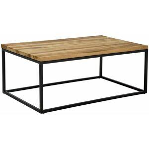 BELIANI - Tavolino da caffè in legno di teak PROVO II