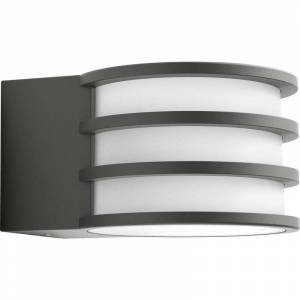 Philips Applique per esterni Philips Lighting Lucca 1740193P0 E27 Potenza: 9.5 W Bianco caldo