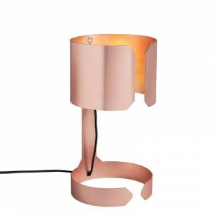 QAZQA Lampada da tavolo grande waltz - Design - Acciaio - Rame - Tondo Max. 1 x Watt -