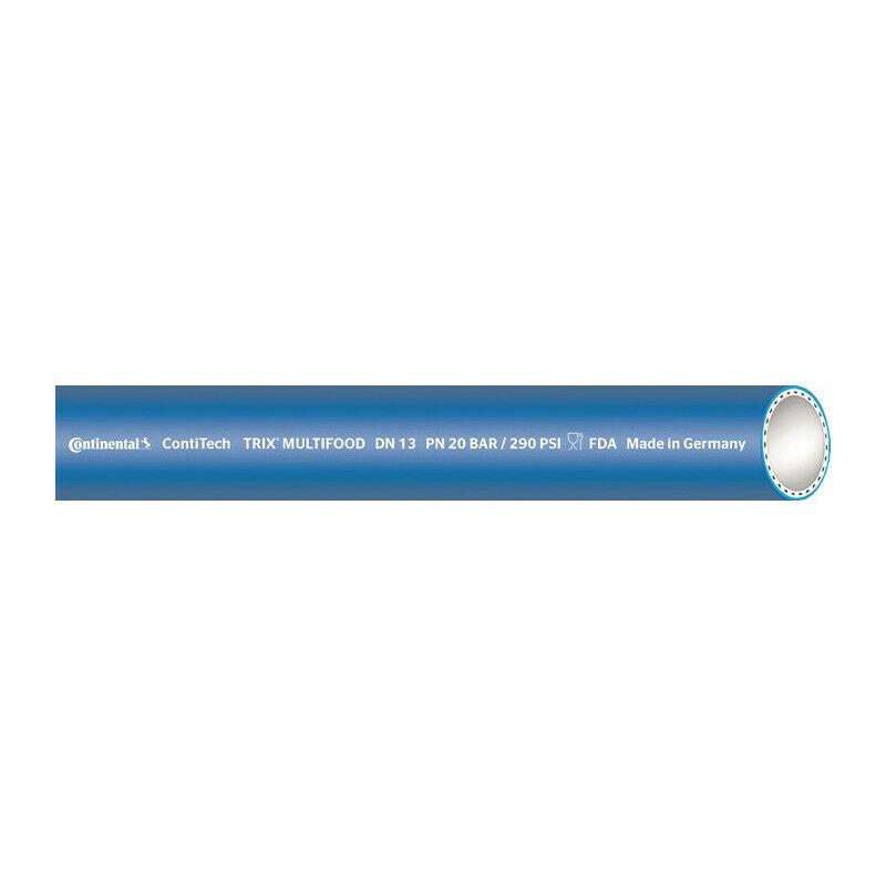 Continental - Tubo alimentare TRIX® MULTI-FOOD ID 25mm L.40m blu spessore parete 7mm Rl. (Per 40)