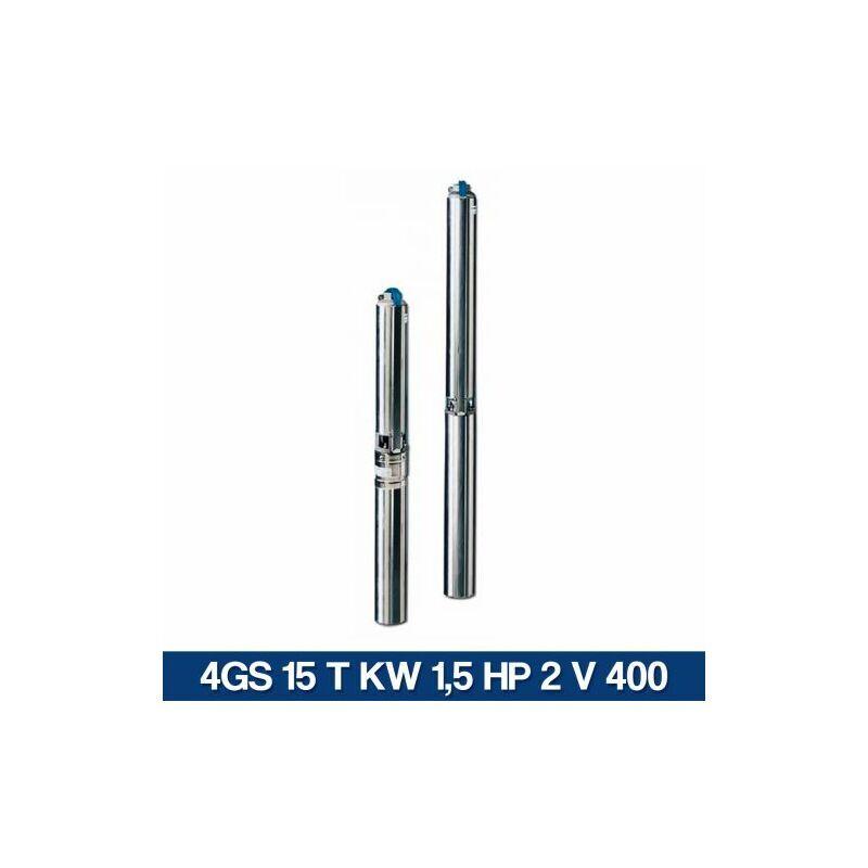 lowara elettropompa pompa sommersa serie 4gs 29281v 4gs 15 t kw 15 hp 2 v 400 (30745)
