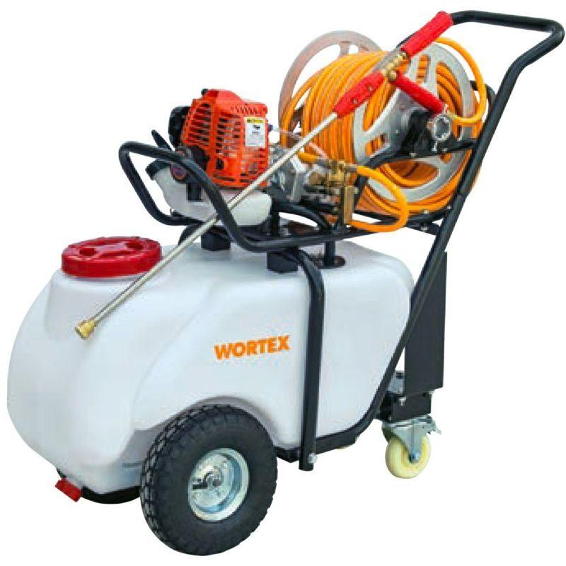 wortex c50-t2 motopompa carriola 50 lt motore miscela 2 tempi disinfestazione diserbo
