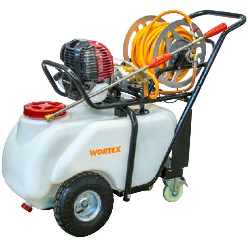 wortex c50-t4 motopompa carriola 50 lt motore benzina 4 tempi disinfestazione diserbo