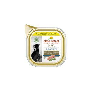 Almo Nature HFC Complete per Cani Adulti da 85 gr   Pollo Free Range con Zucchine