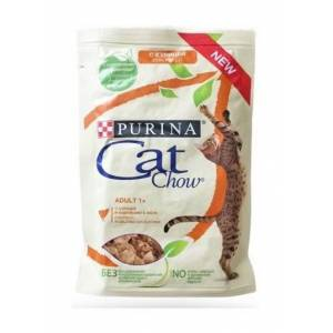 Purina Cat Chow - Cat Chow Adult 1+ da 85 gr   Pollo e Zucchine