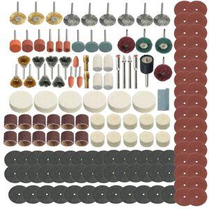 ASUPERMALL 347Pcs Grinding Carteggiatura lucidatura Rotary utensili a ruota Kit di accessori Set